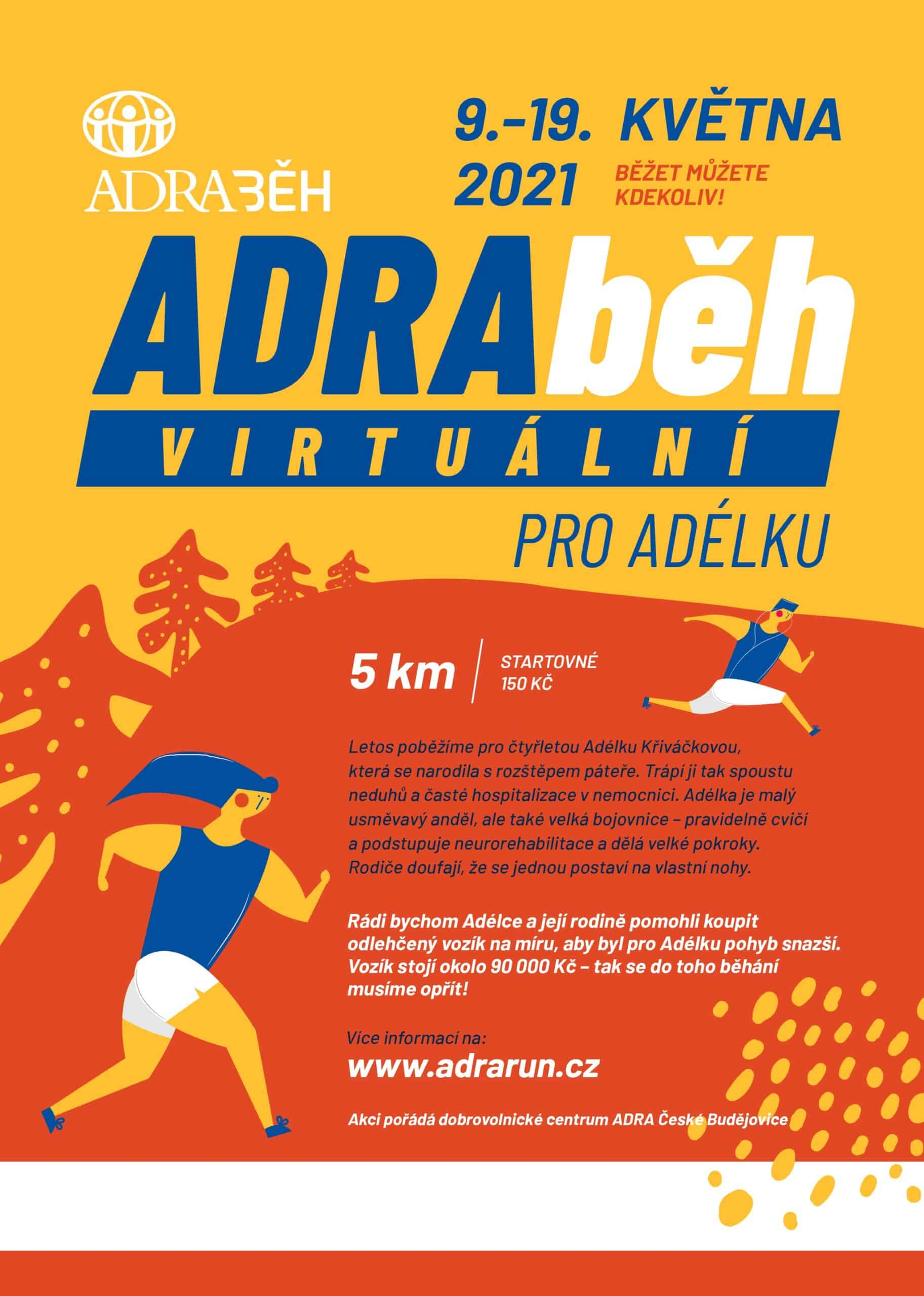 ADRA běh České Budějovice