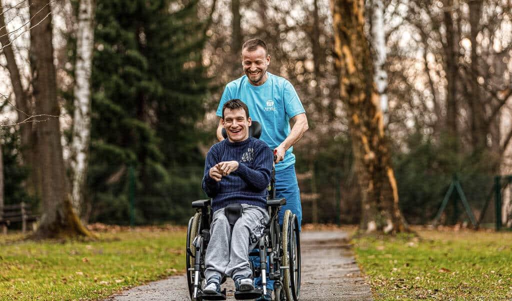 ADRA dobrovolnictví u lidí se zdravotním postižením