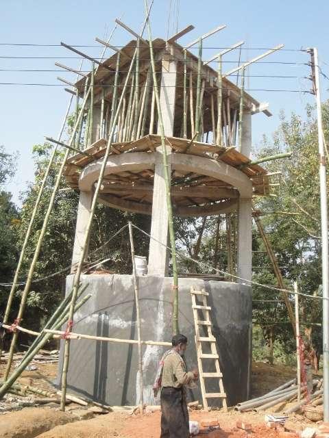 Výstavba studny acisterny